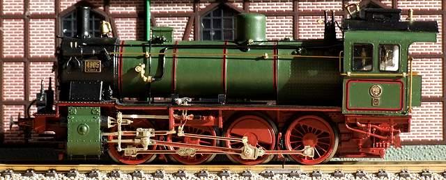 G8 -frühe Bauform mit 14 t Achslast - westmodel und Fleischmann